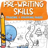 Prewriting Practice Worksheets | Tracing Pages for Develop
