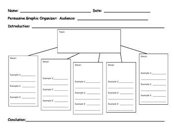 Prewriting Sheet for Persuasive Writing