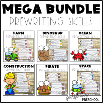 Prewriting Skills MEGA Bundle Pack