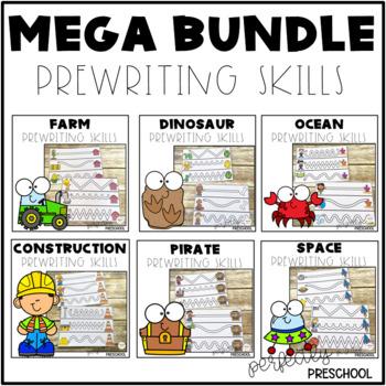 Prewriting Skills MEGA Bundle Pack