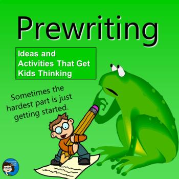 Prewriting - Writing Process Presentation