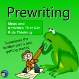 Prewriting - Writing Process Presentation
