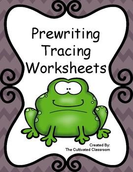 Prewriting Tracing Worksheets