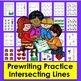 Prewriting Worksheets Bundle Value for Preschool Prewriting Tracing