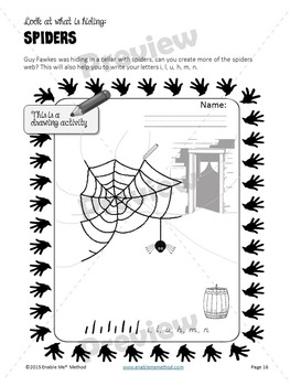 Early Years Handwriting Worksheets for 5 - 7 years: Success with Guy Fawkes