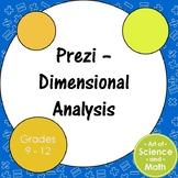 Prezi - Dimensional Analysis - High School Science and Math
