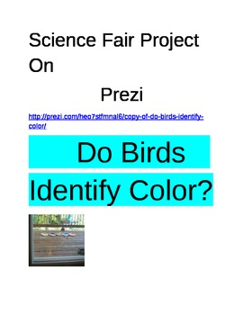 Prezi Do Birds Identify Color?
