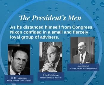 "Prezi Presentation - ""The Nixon Era"" with Guided Notes Worksheet"