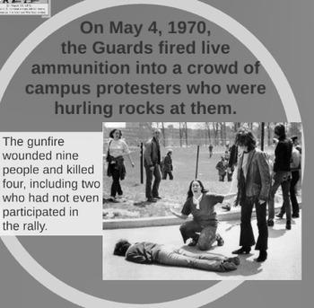 "Prezi Presentation - ""The Vietnam War: Part 2"" w/Guided Notes Worksheet"