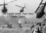 "Prezi Presentation - ""The Vietnam War: Part 2"" w/Guided No"