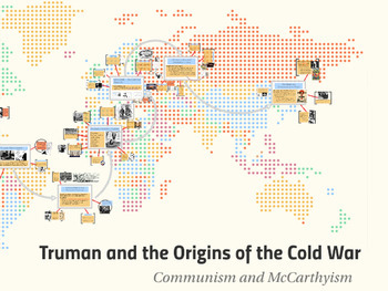 "Prezi Presentation - ""Truman and the Cold War"" w/Guided Notes Worksheet"