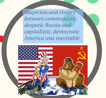 """Prezi Presentation - """"Truman and the Cold War"""" w/Guided Notes Worksheet"""