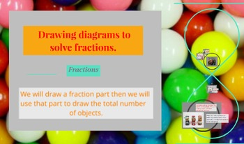 Prezi Presentation on How to Draw Diagrams to Solve Fraction Word Problems