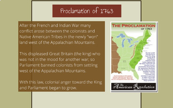"Prezi Presentation - ""The Road Toward Independence"" with Guided Notes Worksheet"
