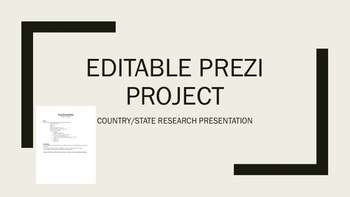 Prezi Project Editable-Country
