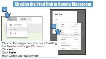 Prezi - Share to Google Classroom Guide