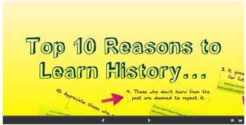 Prezi: Top 10 Reasons to Learn History