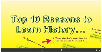 Prezi: Top 10 Reasons to Learn History