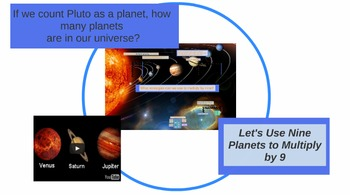 Prezi: Using Nine Planets to Multiply by Nine