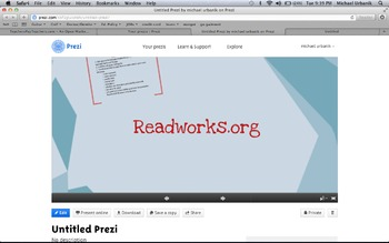Prezi for readworks.org