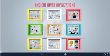 Prezi on Ancient Mesopotamia and Ancient Egypt