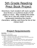 Prezi or Powerpoint Book Project Instructions/Rubric