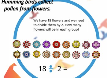 Prezi with strategies to assist students in dividing by two