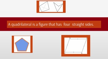 Prezi:Drawing Quadrilaterals/Comparing Quadrilaterals and Polygons