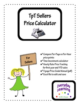 Price Calculator For TpT Sellers