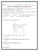 Price Ceilings and Price Floors Assignment w/ Answer Key