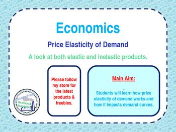 Price Elasticity of Demand (PED) - Microeconomics - Elastic & Inelastic Goods