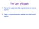 Price Elasticity of Supply PES - Elastic & Inelastic Suppl