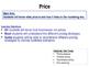Price - Pricing Strategies - The Marketing Mix - 4 P's - B