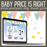 Price is Right Baby Edition Power Point Game Virtual Baby Shower