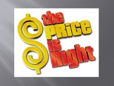 Price is Right - Budgeting Game (College Version) *NEW!!!