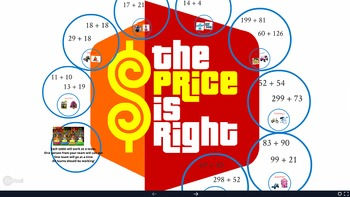Price is Right! Math Addition Game