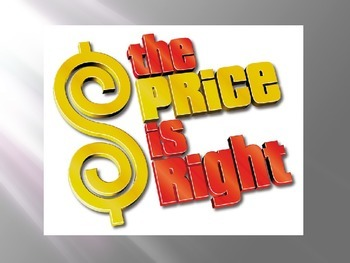 Price is Right - budgeting game