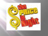Price is Right - budgeting game 3