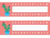 Prickly Pear Cactus Name Plates