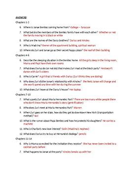 Pride (Ibi Zoboi) Reading Questions