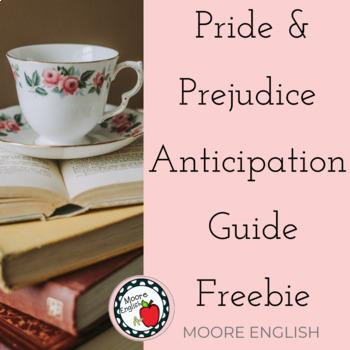 Pride and Prejudice Anticipation Guide FREEBIE