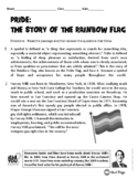 Pride: The Story of the Rainbow Flag ELA Informational Text Test Prep Passage