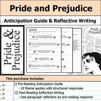 Pride and Prejudice Unit Bundle