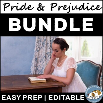 Pride and Prejudice Activity Mini Bundle