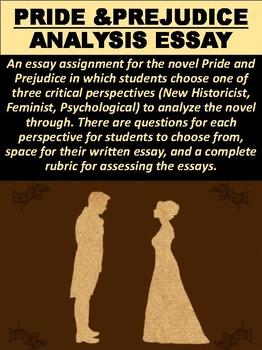 """Pride and Prejudice"" Analysis Essay"