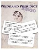Pride and Prejudice BINGO