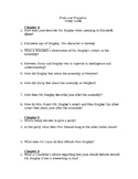 Pride and Prejudice Chapters 4, 5, and 6 Study Guide