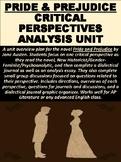 Pride and Prejudice Novel Critical Perspectives Unit