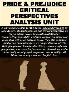 """Pride and Prejudice"" Critical Perspectives Unit"