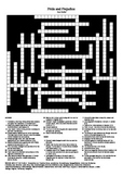 Pride and Prejudice - Crossword Puzzle